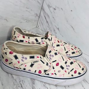 VANS classic make-up stylists print slip on Shoes